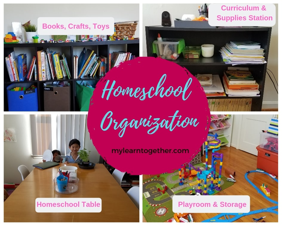 More Homeschool Organization