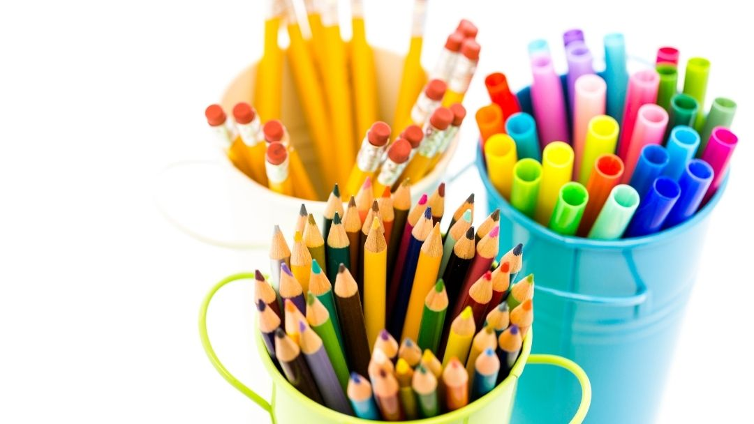 Homeschool Supplies for Kindergartners