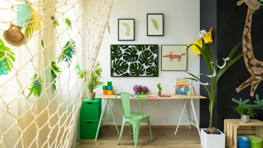Homeschool room ideas on a budget